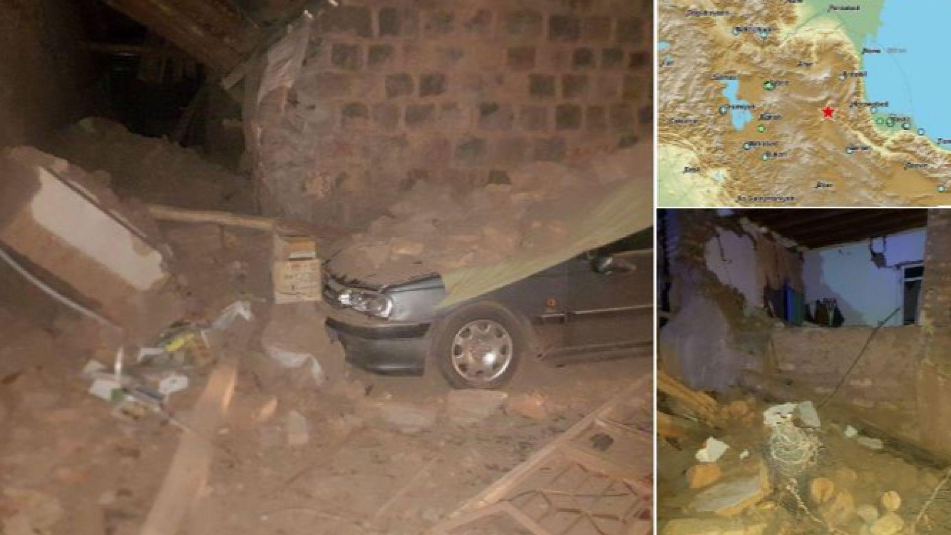 Загинали и десетки ранени при земетресение в Иран