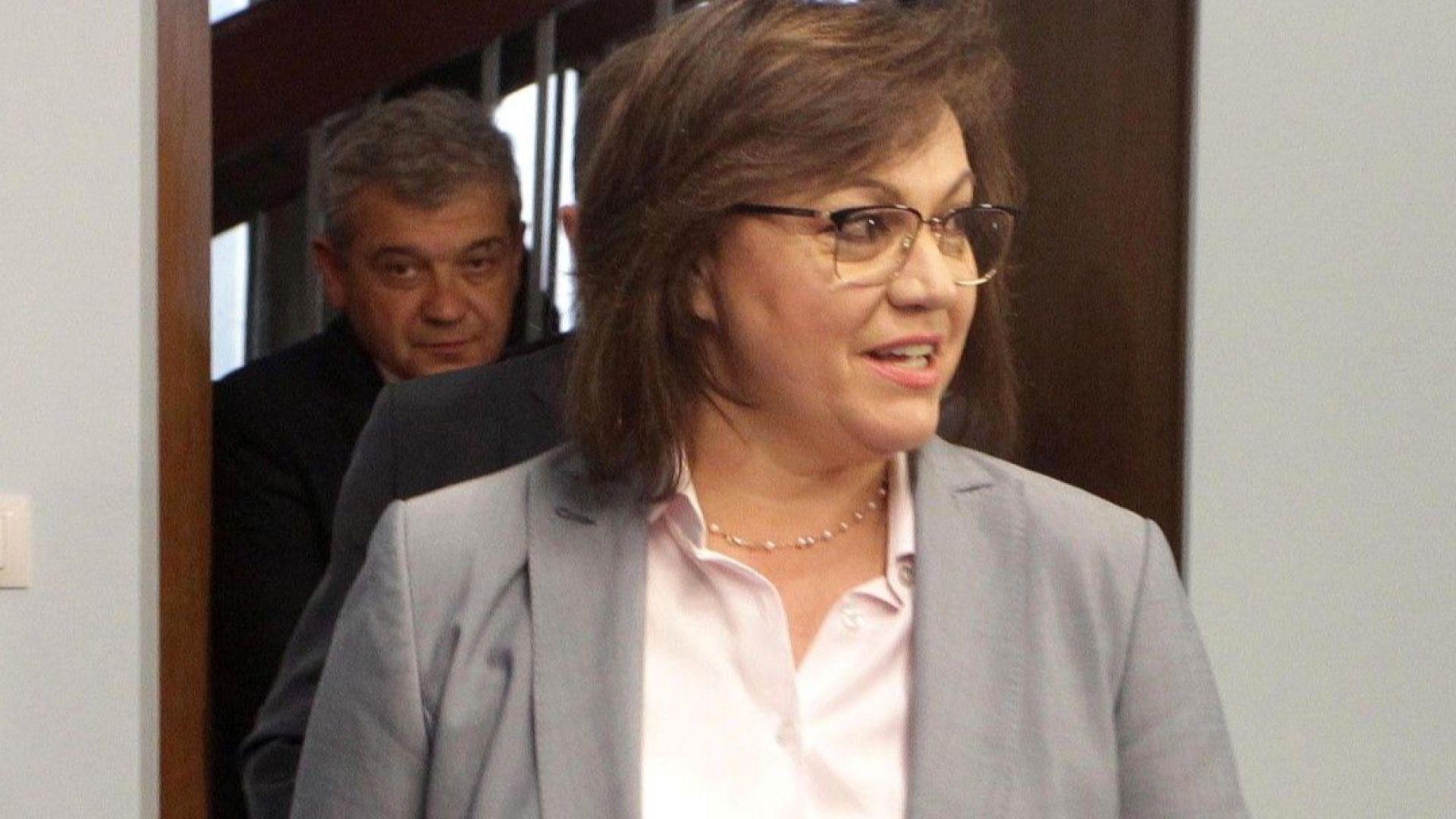Нинова се оплака пред европейските посланици от репресии срещу поддръжници на БСП