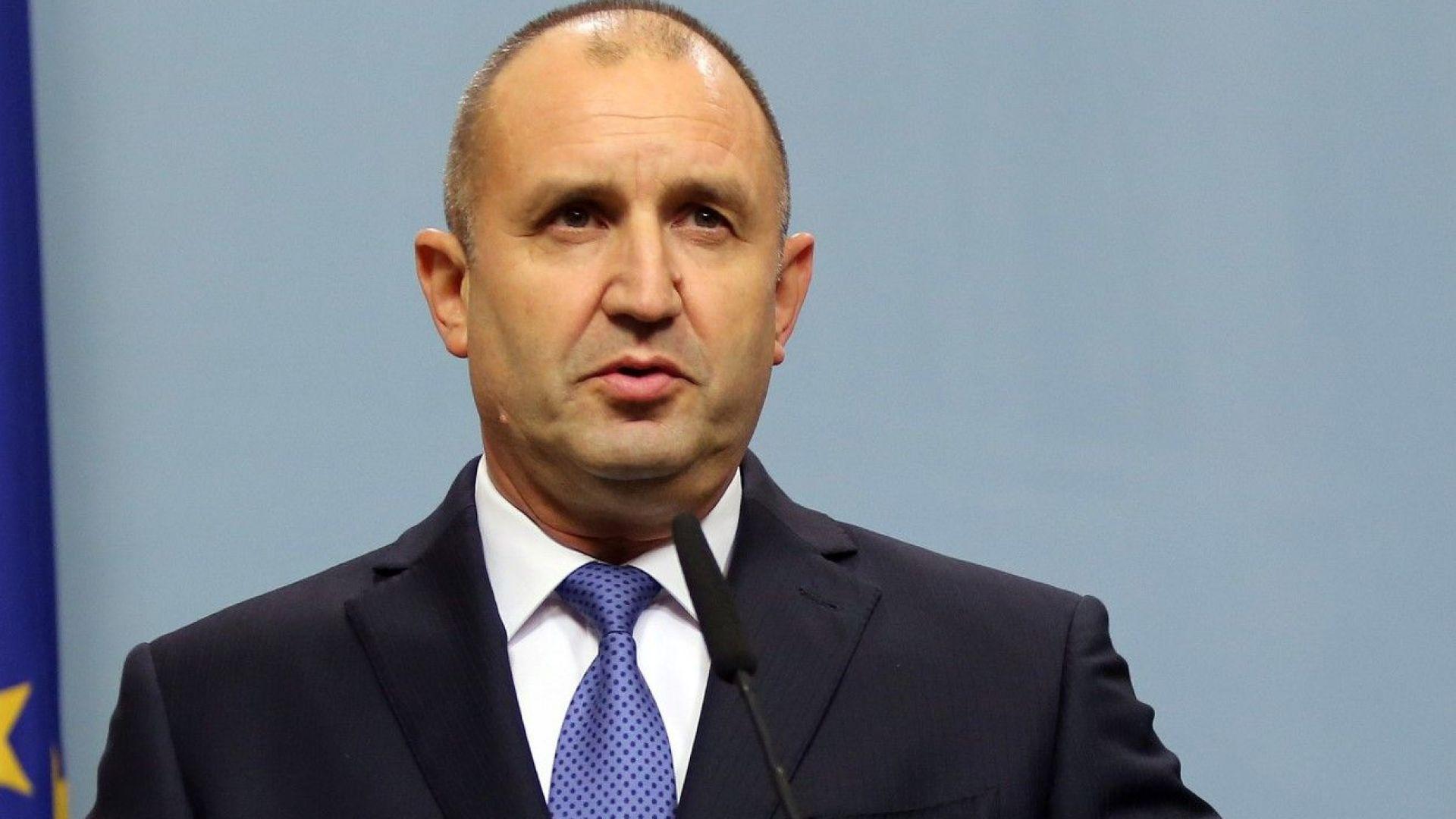 Румен Радев: Нека не спекулираме и влияем с прогнозни действия за Гешев