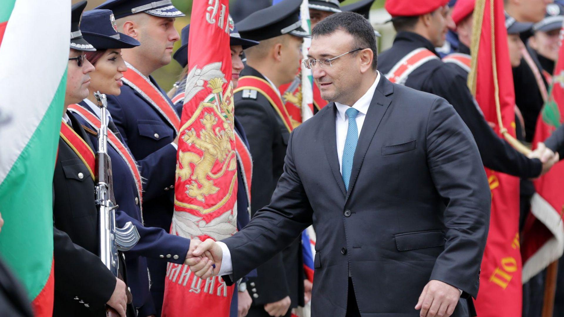 Вътрешният министър поздрави служителите на МВР по повод празника (снимки)