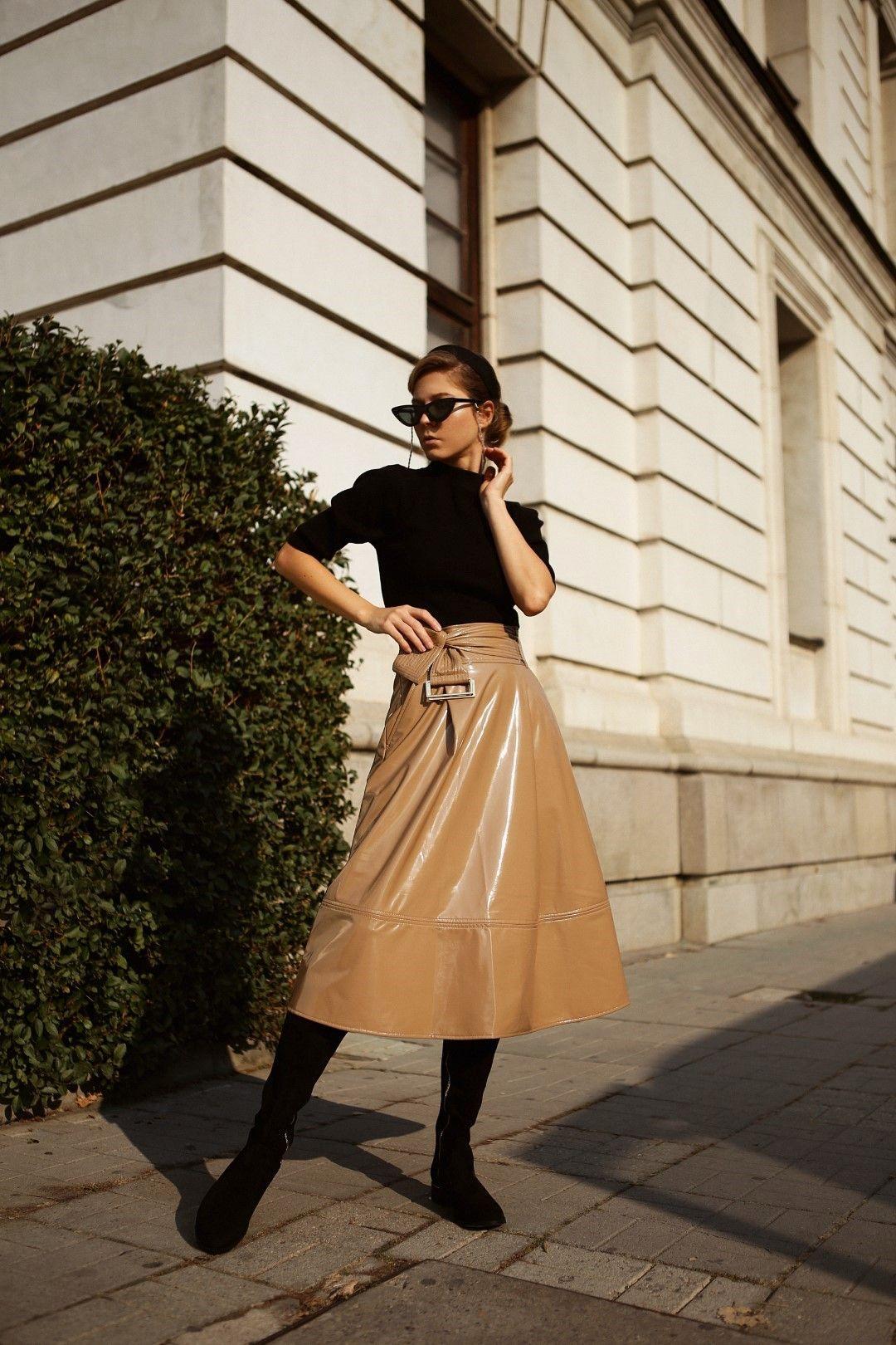 Блуза Molly Bracken, пола Nenette ботуши Calvin Klein от магазини Collective.