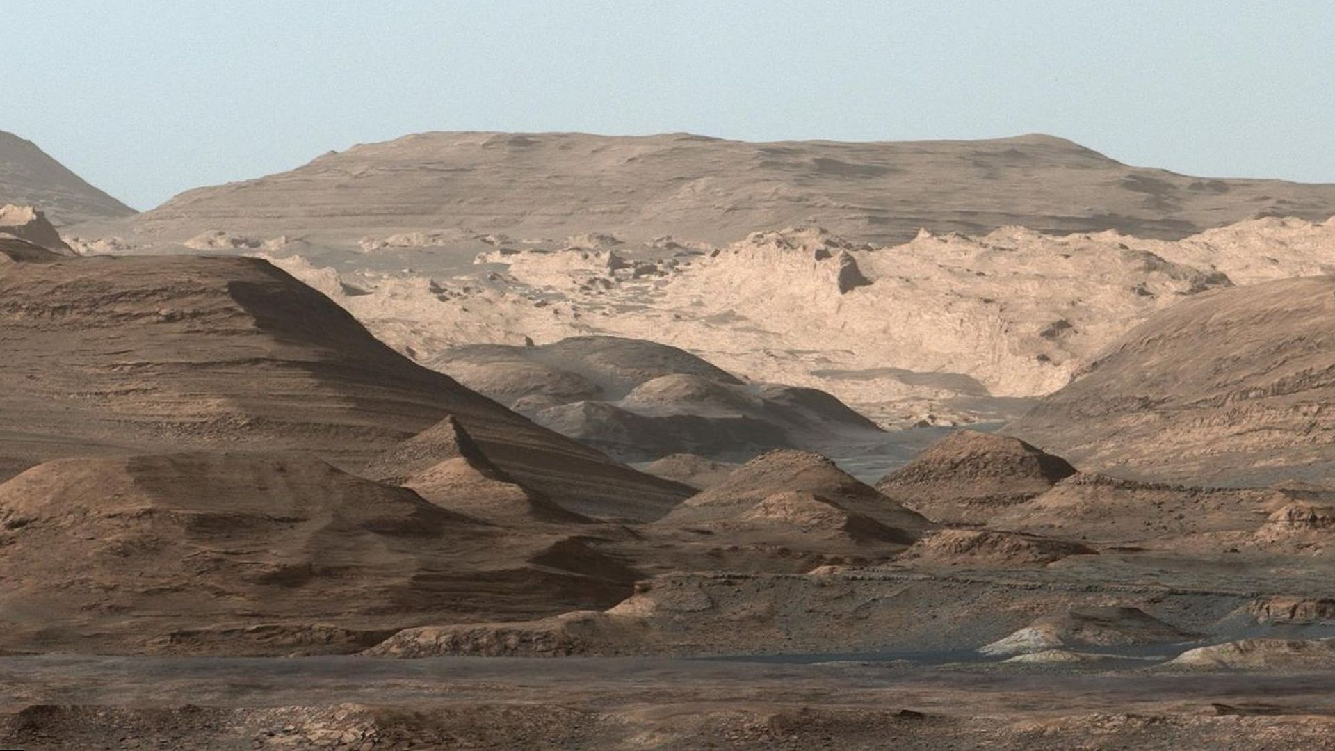 Вижте панорамата с най-висока резолюция от Марс