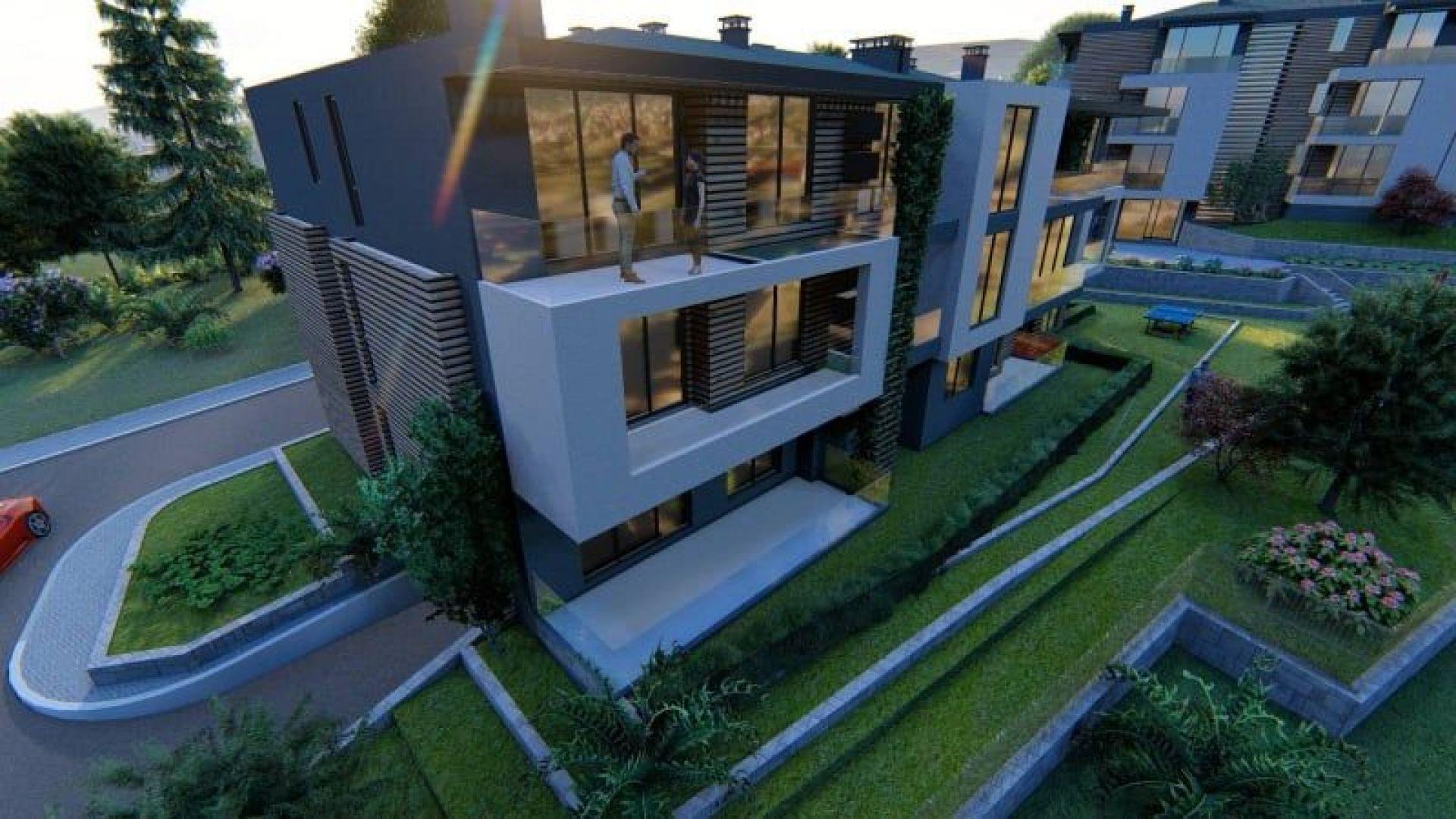 """""""City Life - Luxury apart complex"""" - бутиков жилищен комплекс с контрол на достъпа, който предлага комфорта на къща"""