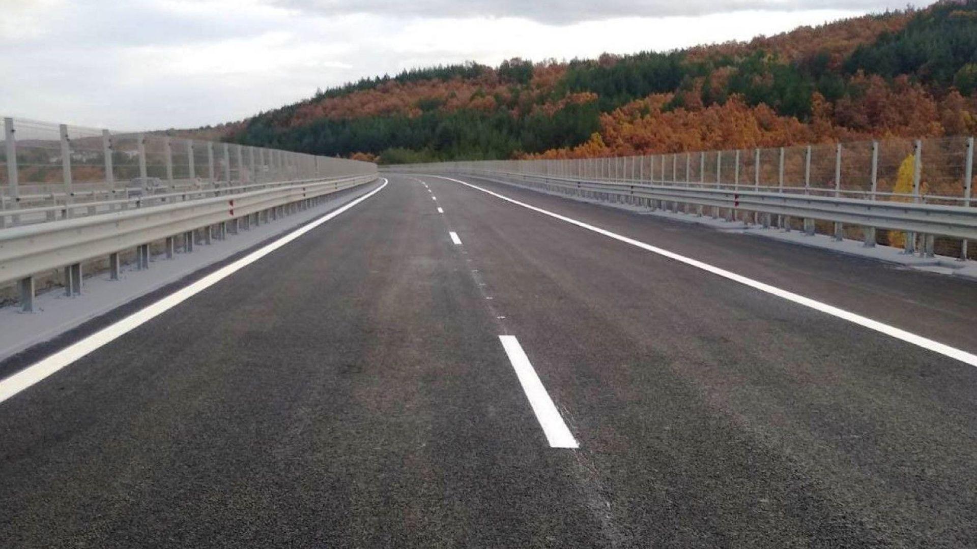 """Завърши ремонтът на два виадукта по магистрала """"Тракия"""""""