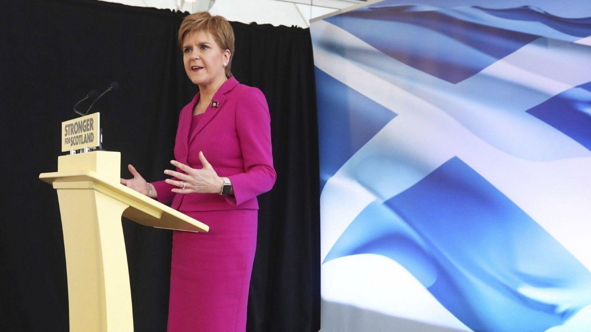 Стърджън към Джонсън: Не може да задържите Шотландия в Обединеното кралство насила