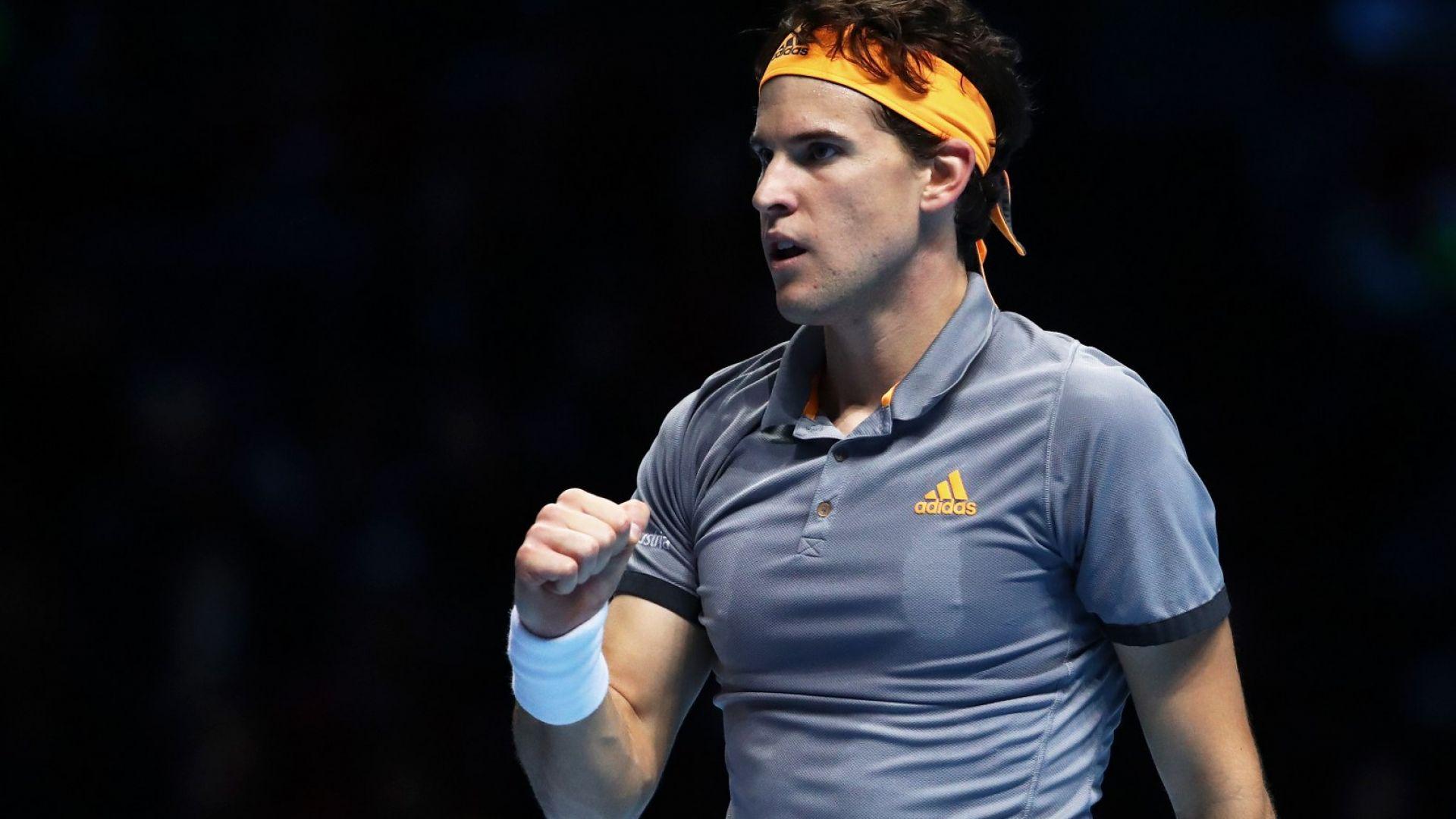 Перфектно начало на Тийм, удари Федерер за трети пореден път