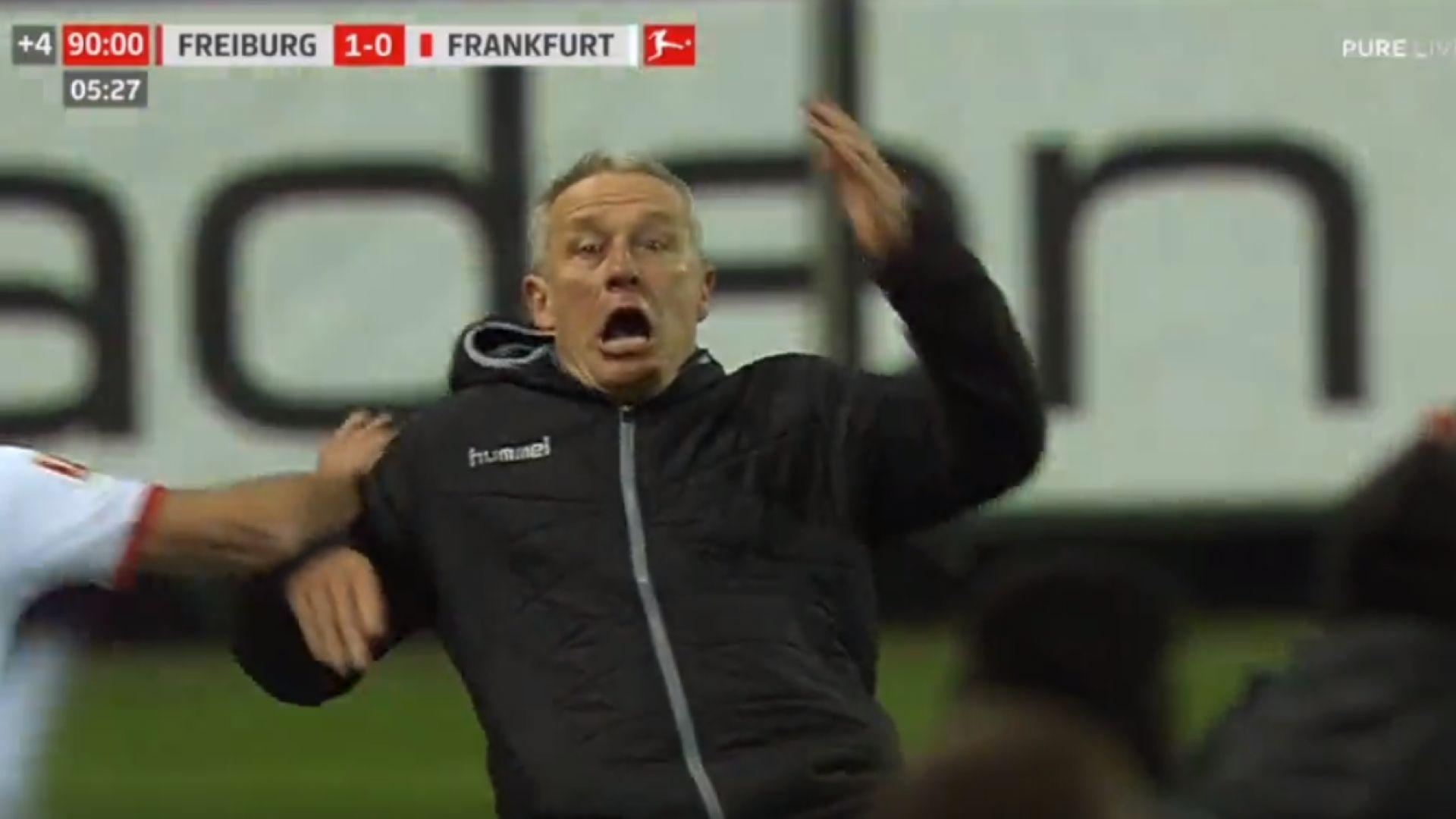 Играч предизвика меле в германския елит след агресия над треньор