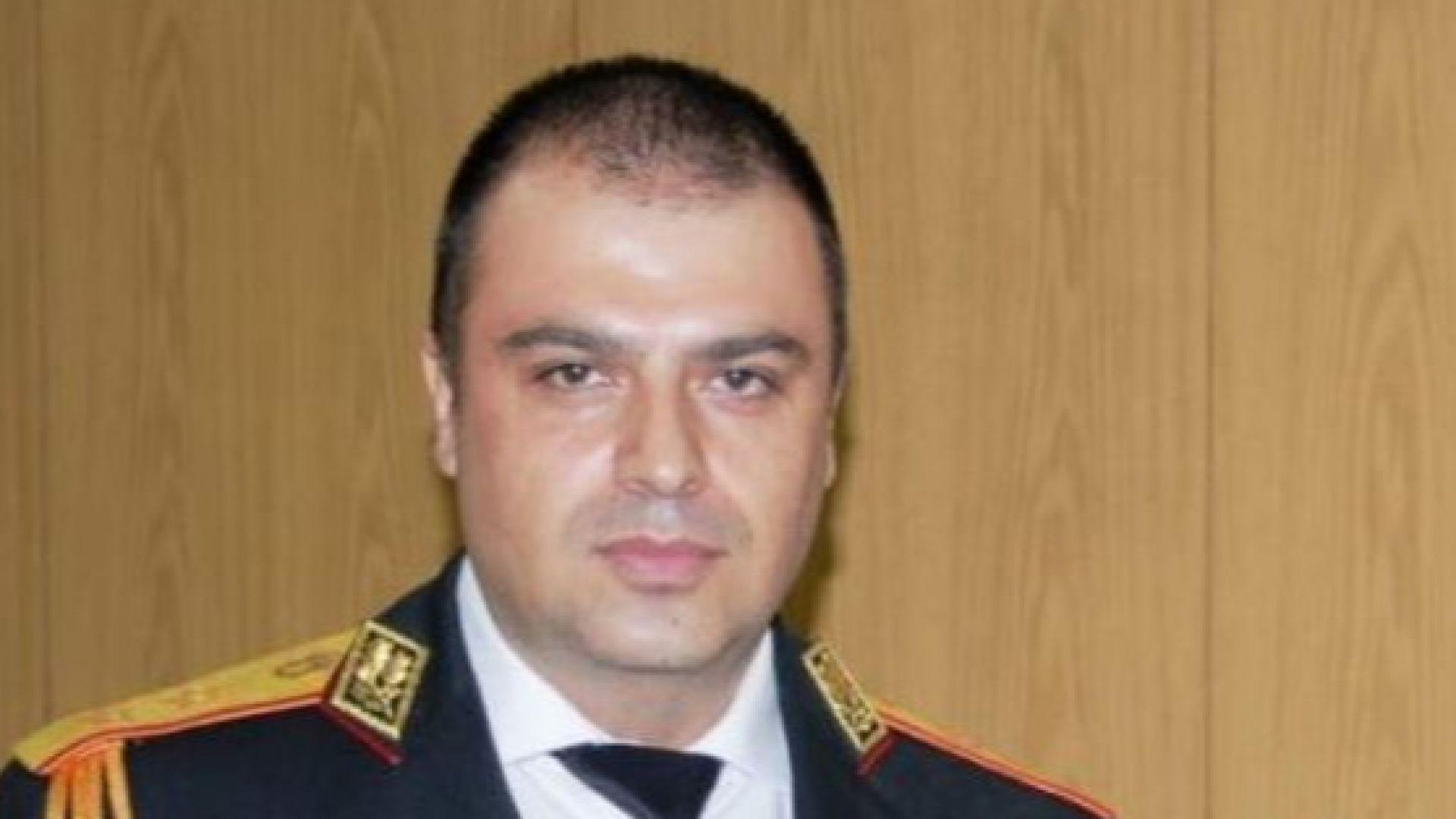 Директорът на полицията в Пловдив Йордан Рогачев и съпругата му