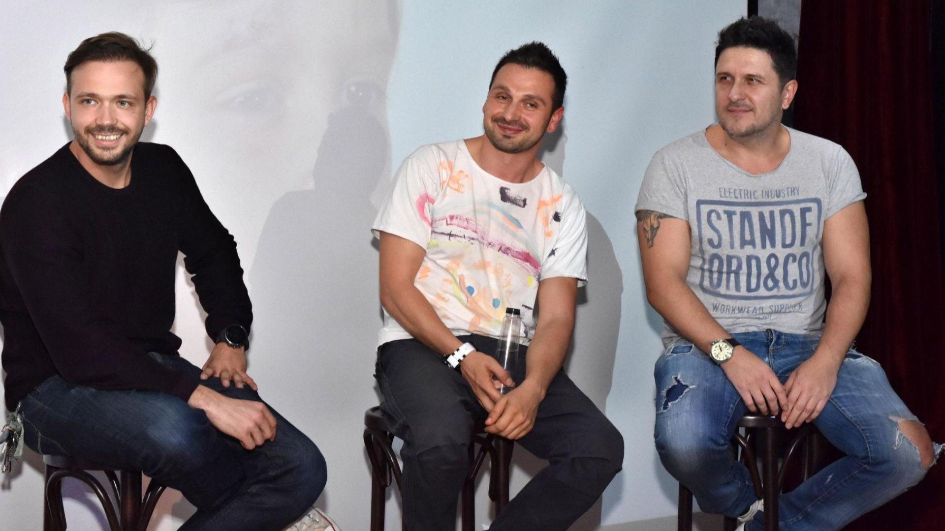 Асен Блатечки, Александър Алексиев и Александър Сано в откровен разговор за бащинството