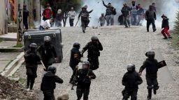 Преврат в Боливия, оставки и протести