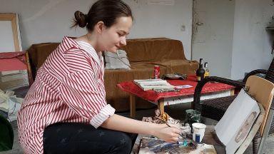 Тъмножълтото момиче от Варна и обетът на художника