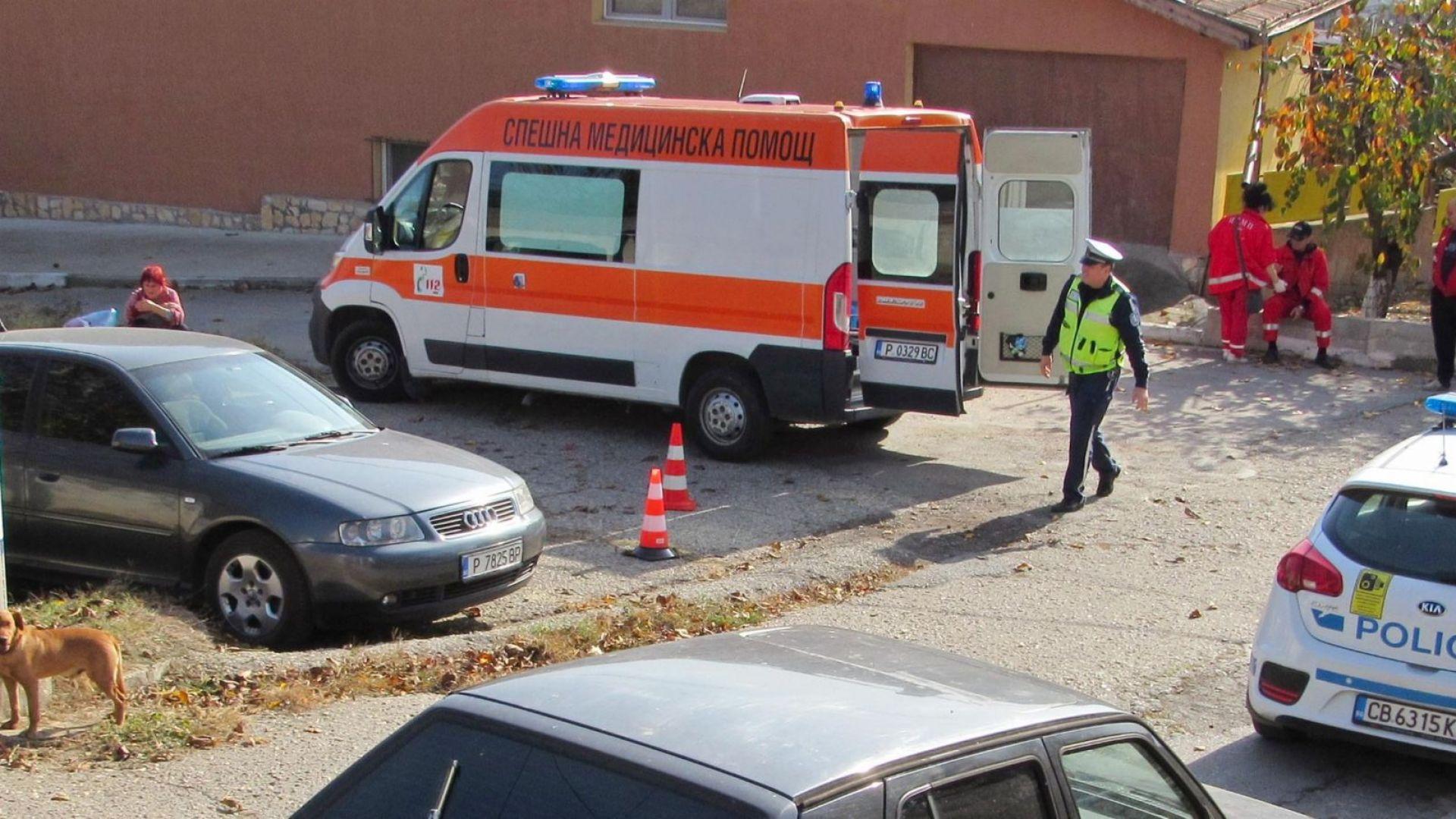 Полицията задържа шофьора на камион, прегазил дете (видео)