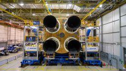 НАСА представи първата степен на ракетата си за Луната