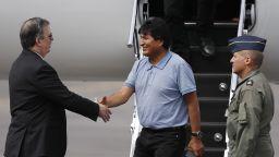 Ево Моралес пристигна в Мексико: Спасихте ми живота!