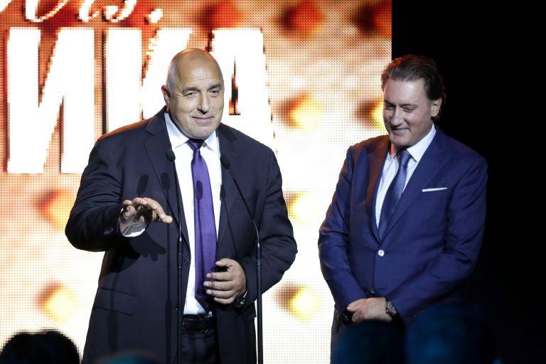Бойко Борисов и председателят на КРИБ Кирил Домусчиев