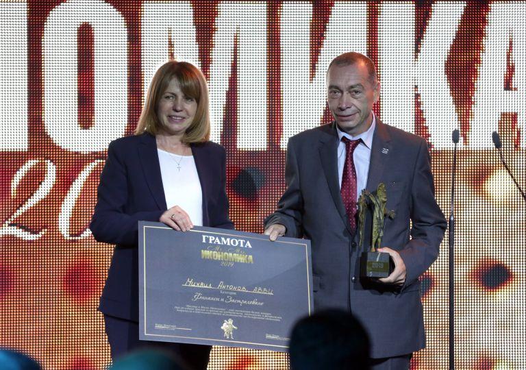 Кметът Йорданка Фандъкова, която спечели четвърти мандат, също се включи в церемонията
