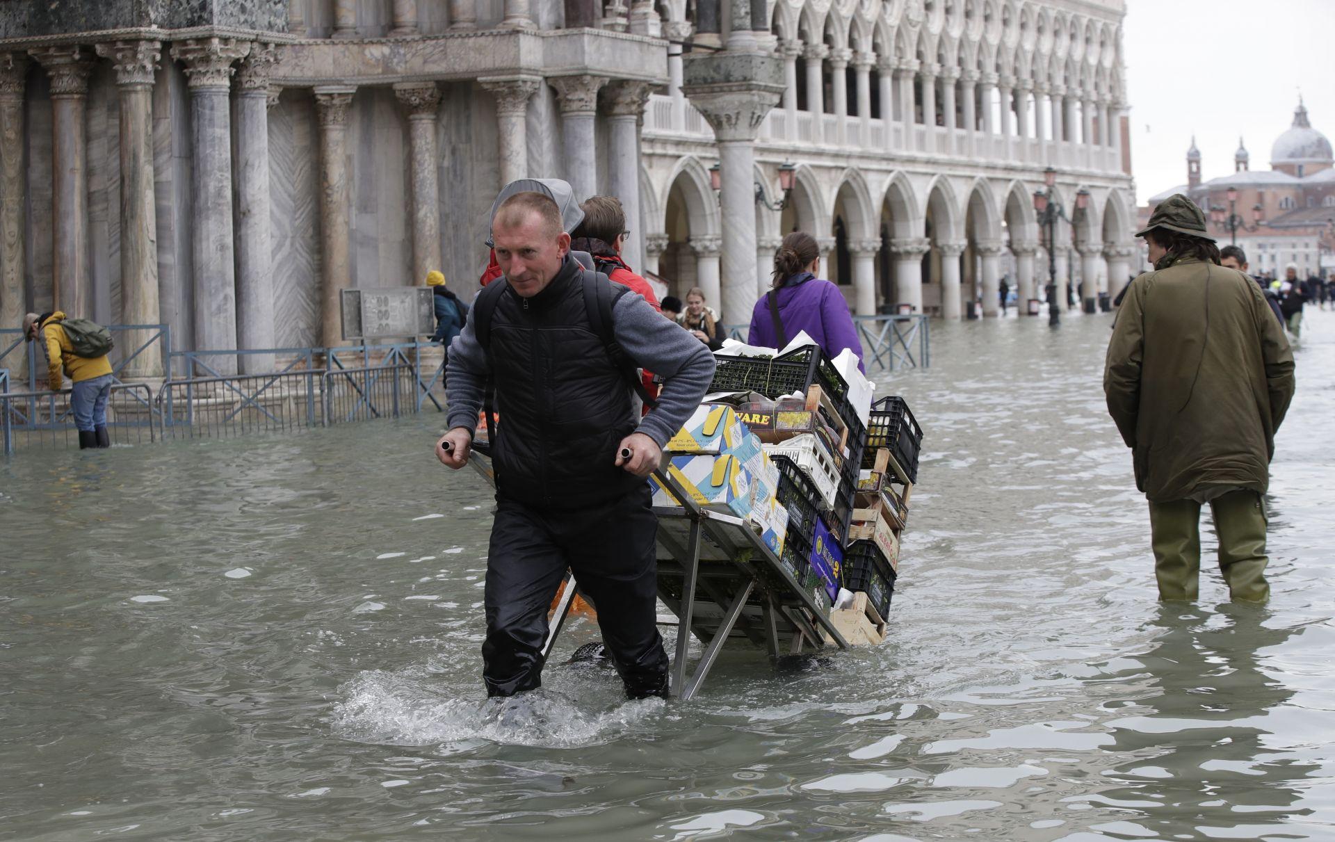 Наводненията във Венеция