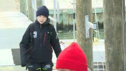 Грета Тунберг отплава от САЩ за Европа с катамаран (видео)
