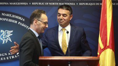 Берлин размаха пръст на Макрон заради Северна Македония