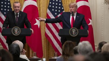 "Тръмп прие Ердоган в Белия дом, бил му ""голям фен"" (видео)"