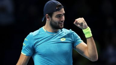 Беретини взе утешителна, но престижна победа във финалния Мастърс