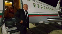 Приземиха аварийно Фалкона на Борисов
