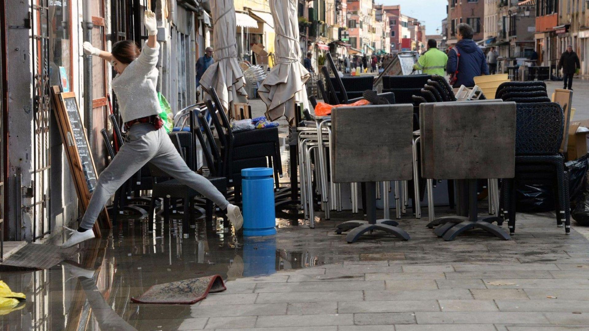 Италия обяви извънредно положение в региона на Венеция, след като