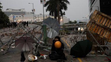 Хонконг е блокиран за пети пореден  ден