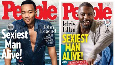 Идрис Елба или Джон Леджънд е по-секси през 90-те (снимки)