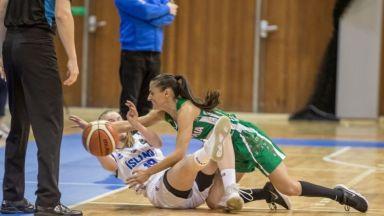 След 36 месеца, България отново записа победа на баскетбол при жените