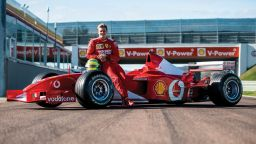 Шумахер пред дебют във Формула 1 още тази седмица