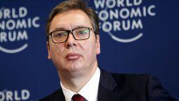 Сръбският президент Вучич приет в болница заради проблеми със сърцето