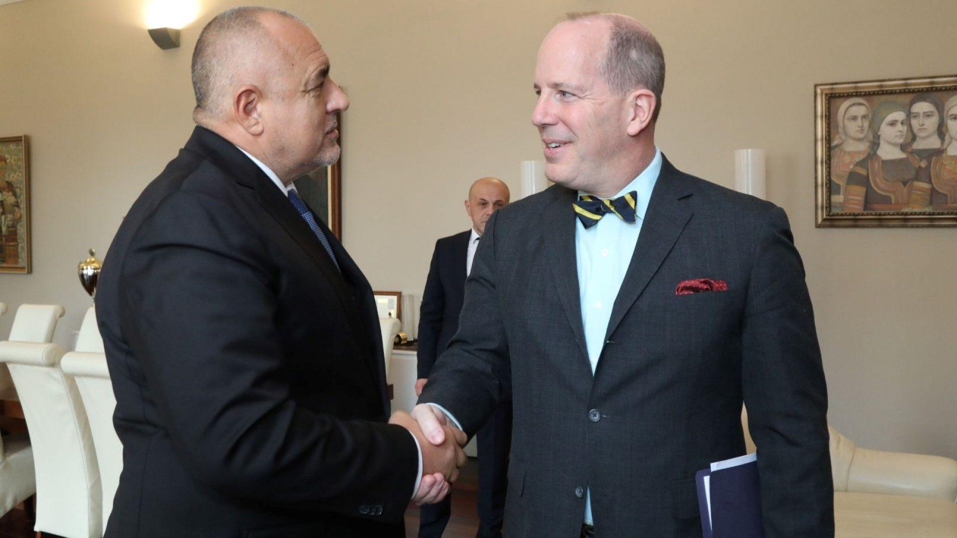 Борисов изтъкна пред Форд потенциала на страната ни да осигури диверсификация на енергийните източници
