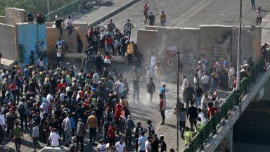 Ирак затвори пропускателен пункт с Иран по искане на Техеран заради протестите и в двете страни