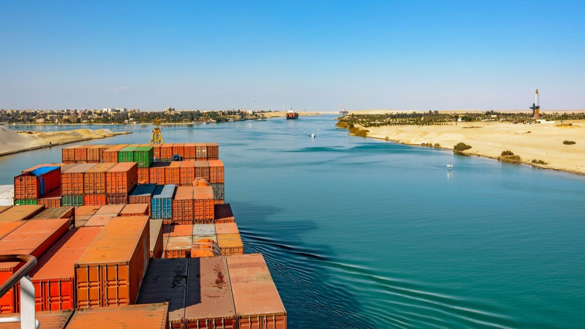 Суецкият канал - разширения и модернизации
