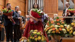 Енергия и класа - Соня Йончева и Националния филхармоничен оркестър