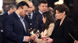 В храмовете почетоха паметта на загиналите при катастрофи, молеха се за ранените