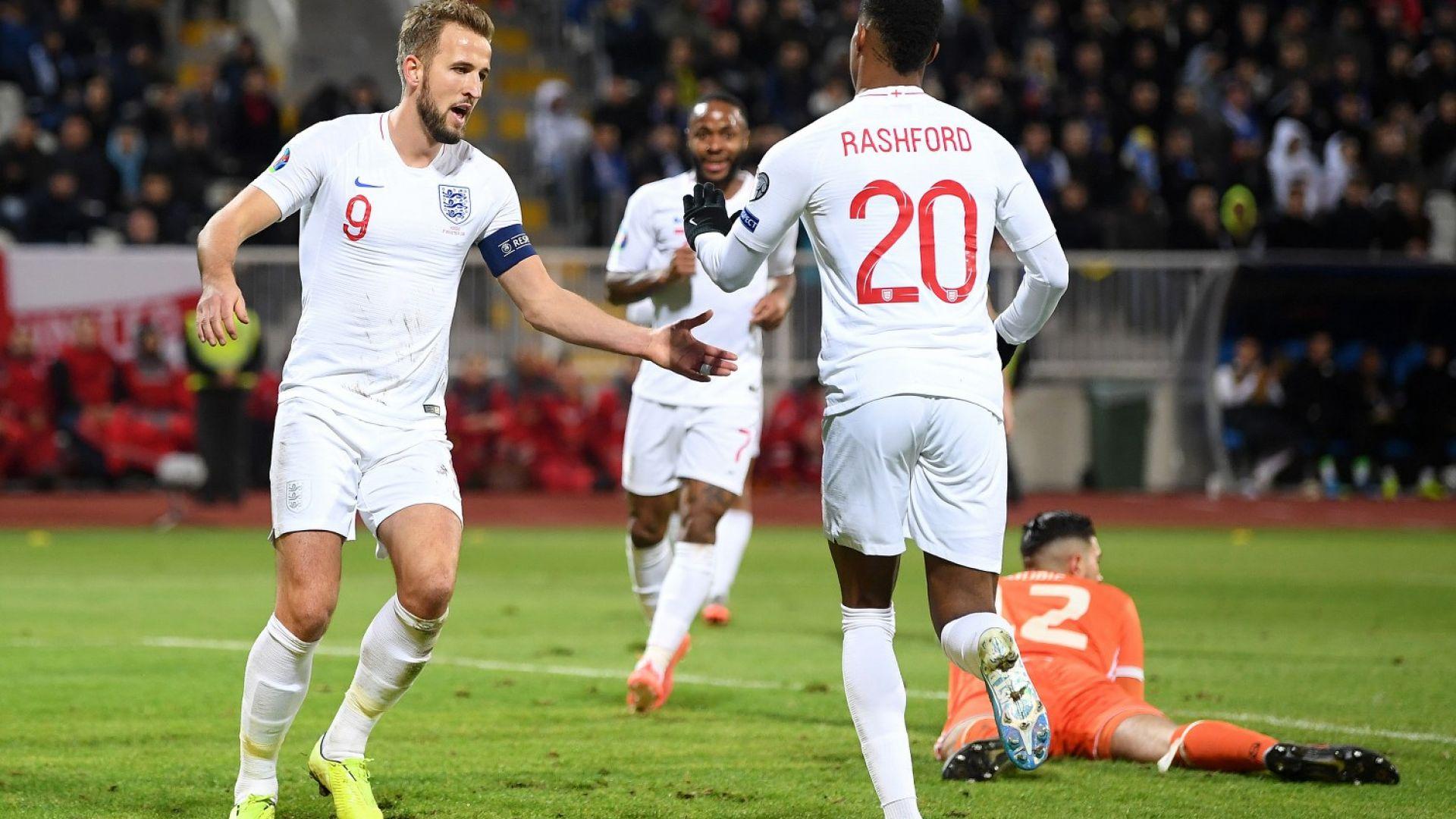 Англия не пощади гостоприемните косовари, завърши с голова разлика +31
