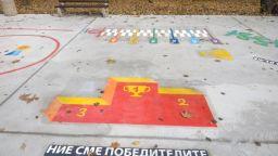 Оригинална детска площадка радва най-малките в Бургас