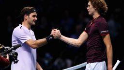 Федерер и Зверев чупят рекорд с шоу в Мексико