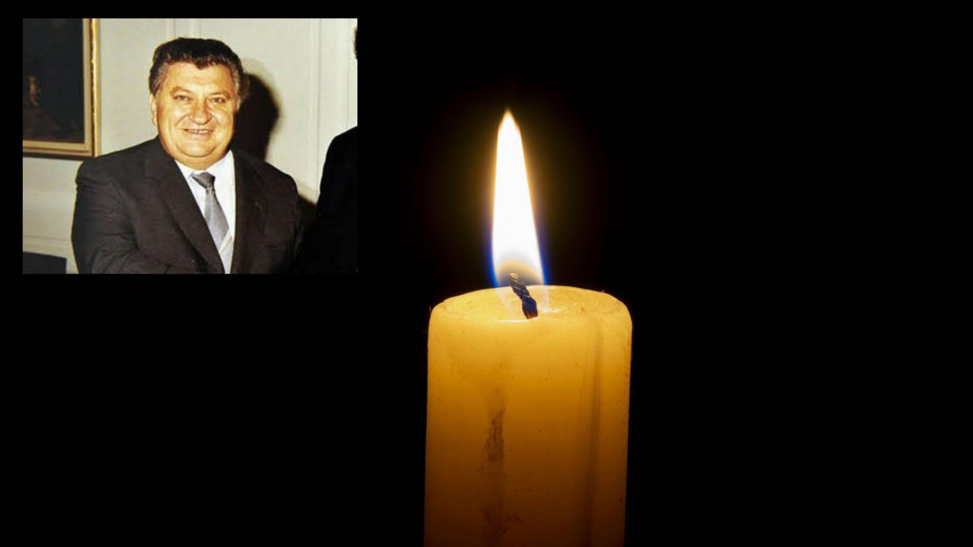 Почина Христо Христов - министър на външната търговия по времето на Тодор Живков