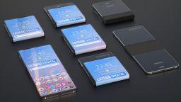 Samsung подсказва за нов сгъваем смартфон