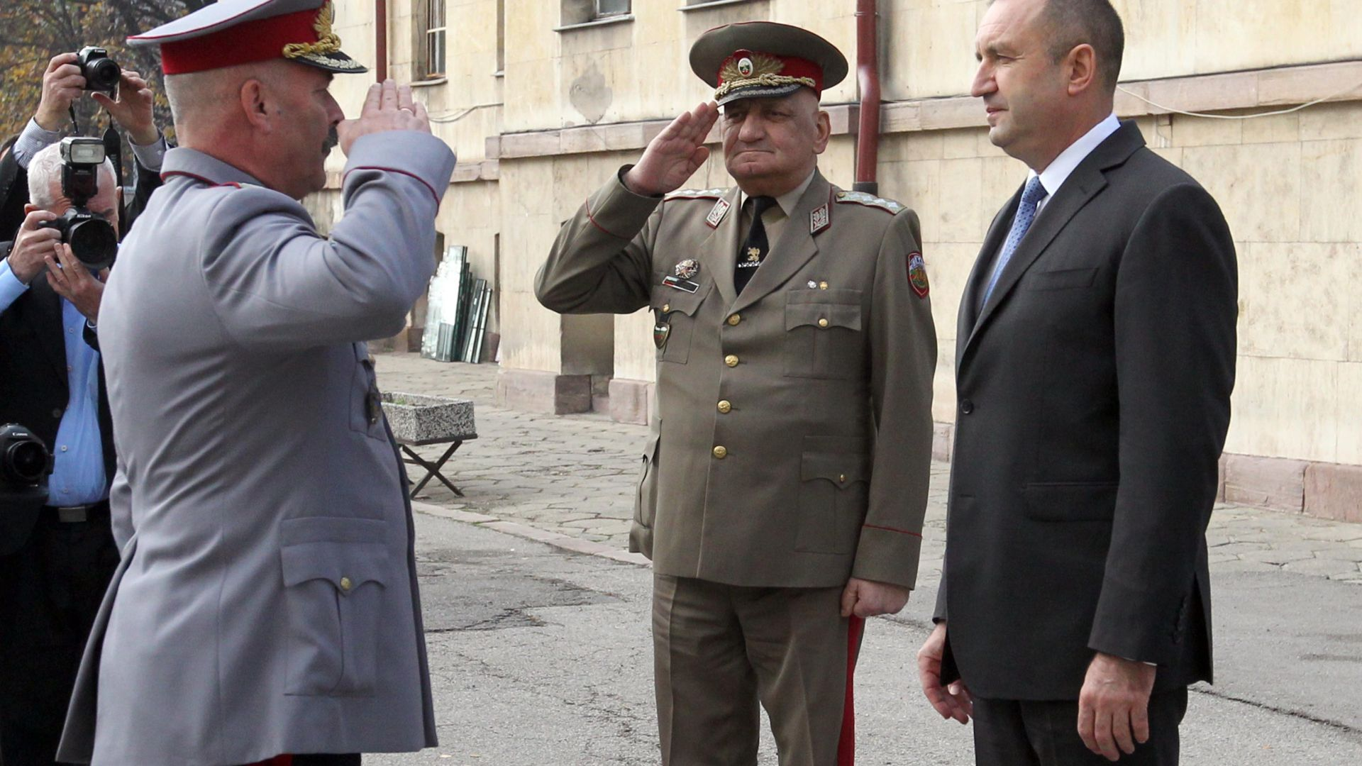 Президентът и върховен главнокомандващ на Въоръжените сили Румен Радев каза,