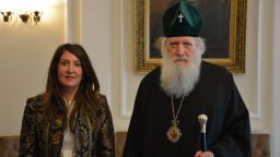 Патриархът се срещна с посланика на САЩ: Мнозина българи са се устроили на вашия континент