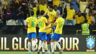 Бразилия прекъсна серия от пет мача без победа