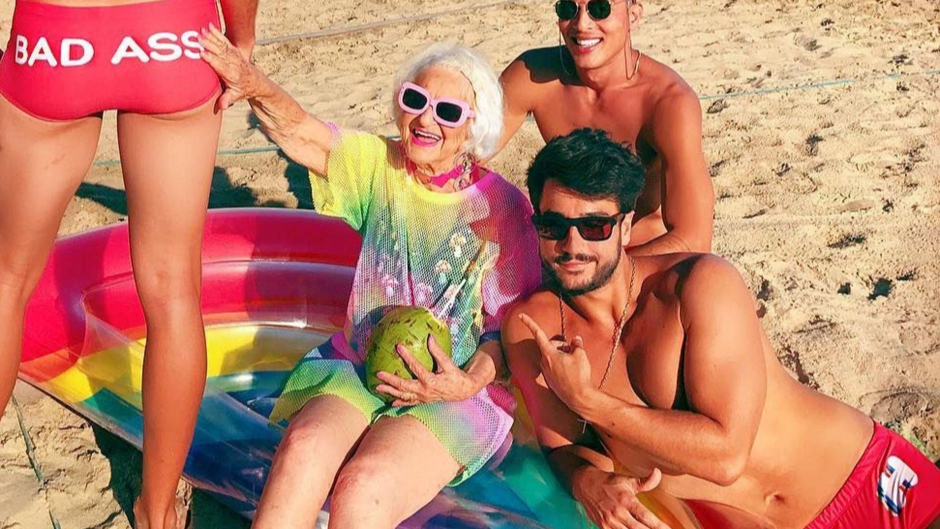 Тя е на 91 г. и е истинска Инстаграм сензация