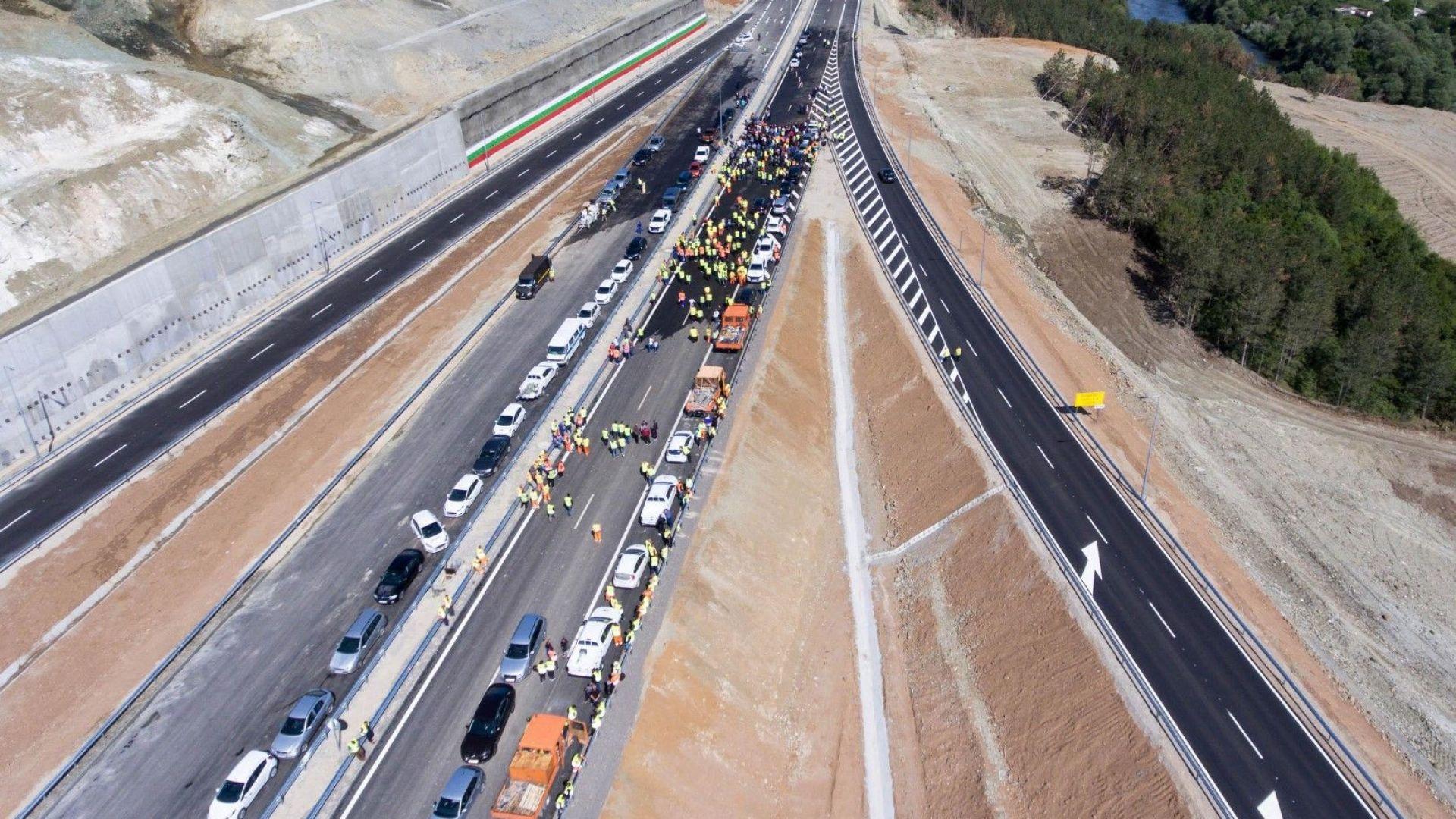 България оттегля искането за европейски пари за магистралата през Кресненското дефиле