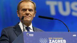 Избраха Доналд Туск за председател на ЕНП с 93% от гласовете