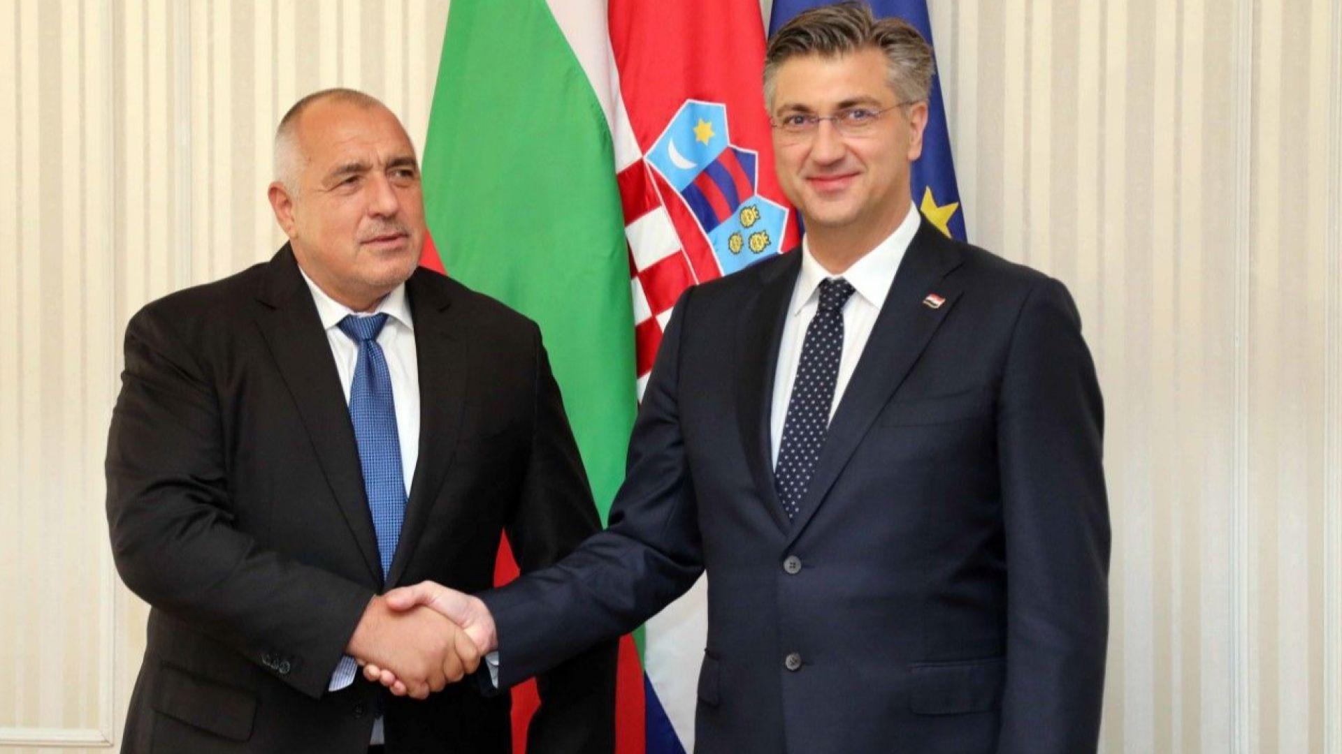 Борисов в Загреб: За нас е важен терминалът за втечнен природен газ на хърватския остров Кърк