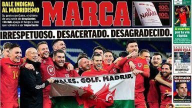 """Мадридският """"Marca"""" скочи на Бейл след гаврата с Реал"""